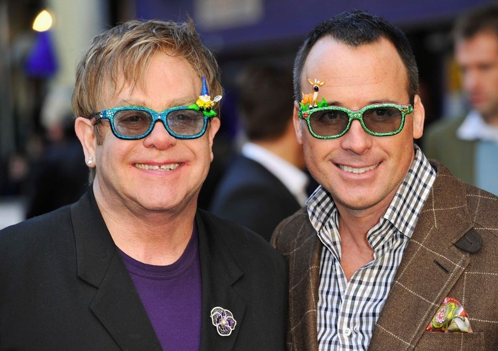 Elton John: How dare you refer to my beautiful children as 'synthetic.'