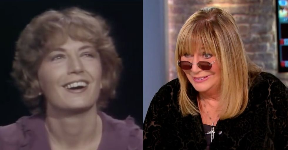 Penny Marshall wanted to make us laugh and cry. Mission accomplished.