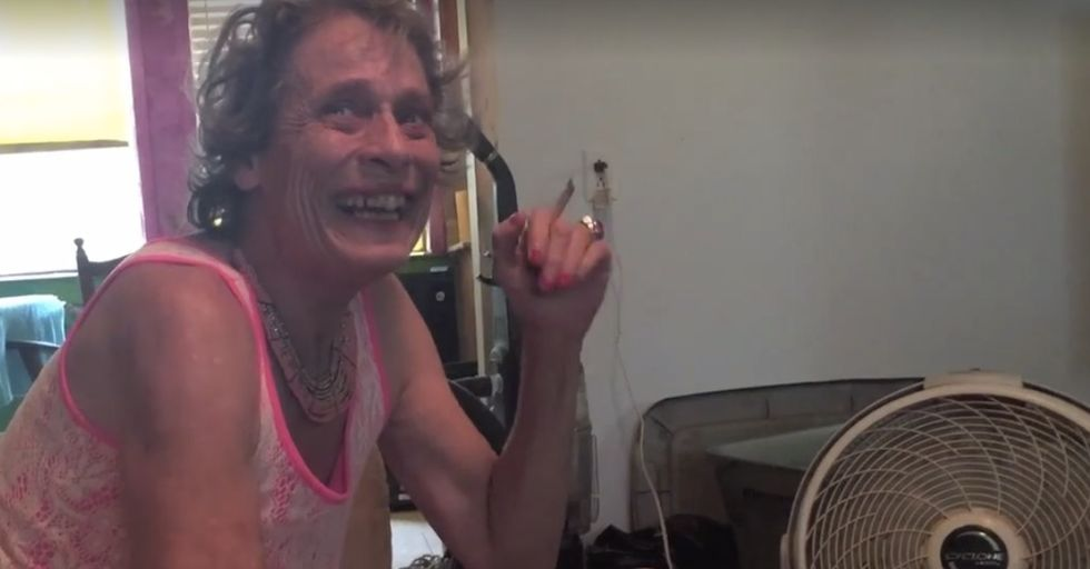A woman made a powerful video of her mom to show the world what schizophrenia is like.