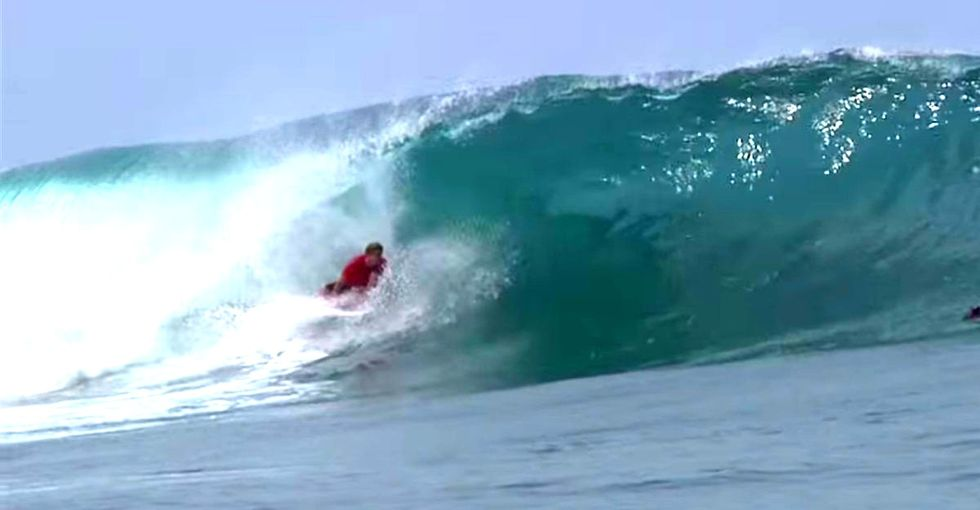 One Of The Grossest Surf Videos I've Ever Seen For Sure