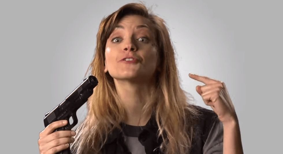 Take 2 minutes for the funniest commercial about guns you'll ever see.