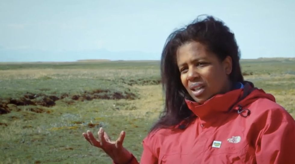 In the Alaskan Arctic, Rue shares a story that connects African-American history with nature.