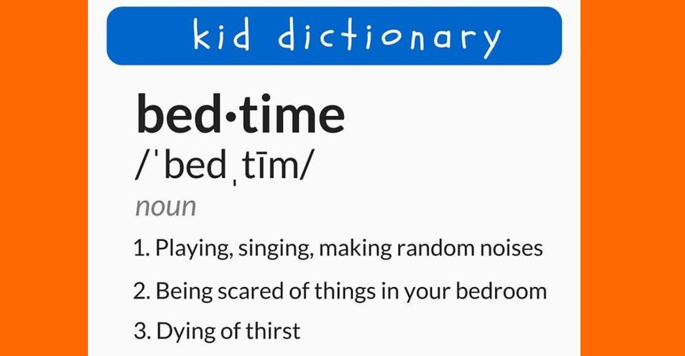 Bedtime battles got you down, parents? These tweets will have you laughing in solidarity.