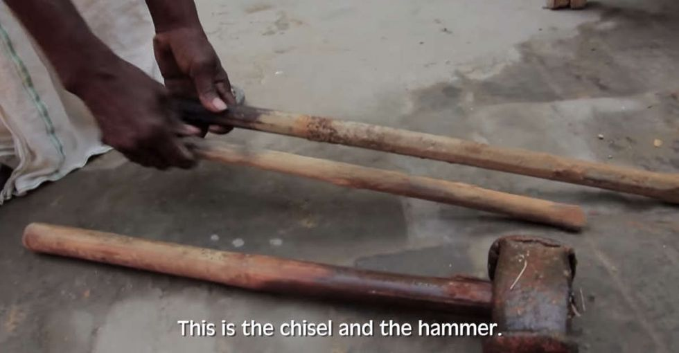 They told him it was impossible. It took him a hammer, a chisel, and 22 years to prove them wrong.