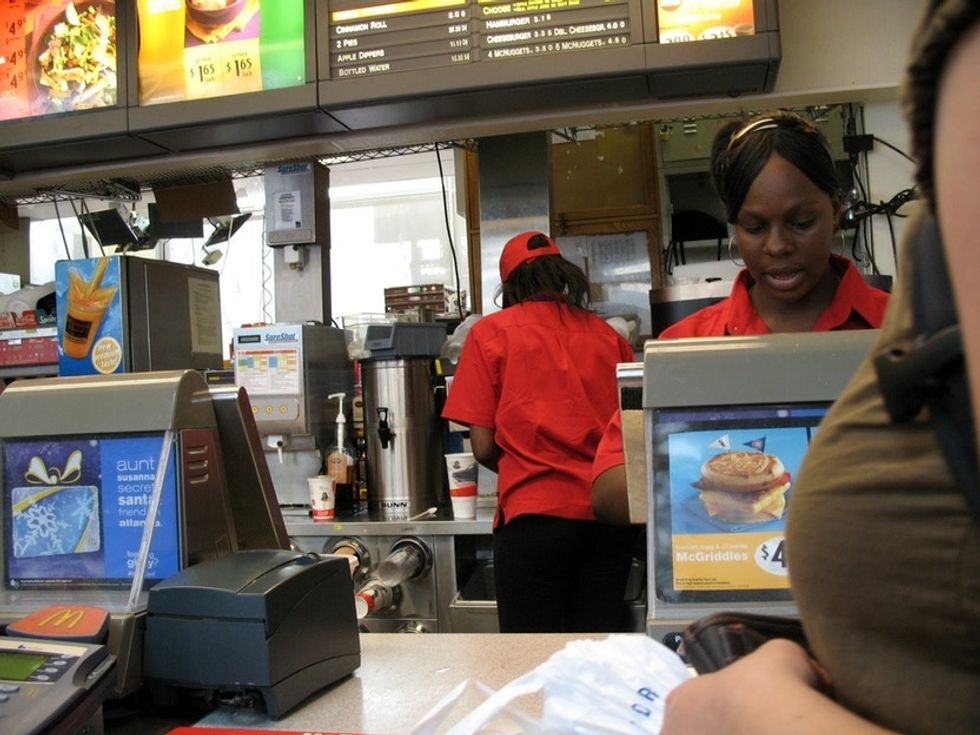 How does McDonald's deal with store owners accused of racism? Not like you'd hope.
