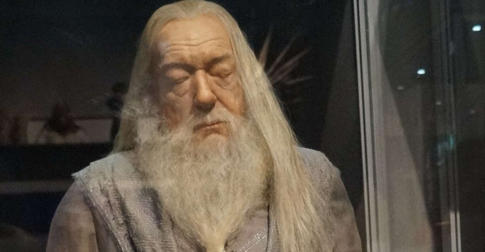A fan asked J.K. Rowling how she knew Dumbledore was gay, and she replied with something obvious.