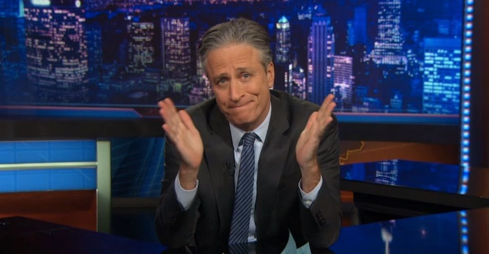 Jon Stewart Takes On The Terrorist Attack Against Charlie Hebdo