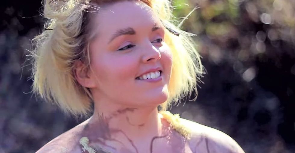 10 Women Get Naked, Put Paint On Their Bodies, And Deliver Some Meaningful Messages