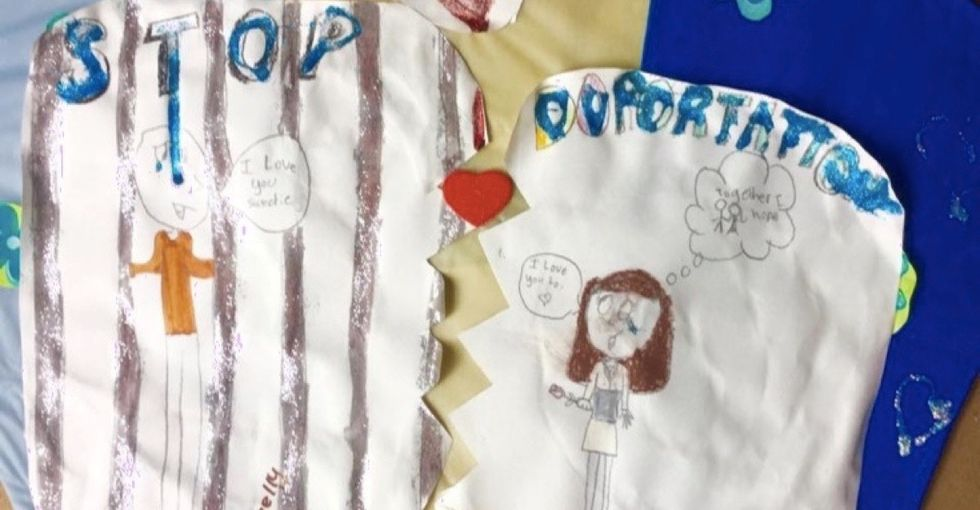 See the beautiful kites these kids designed after their parents were deported.