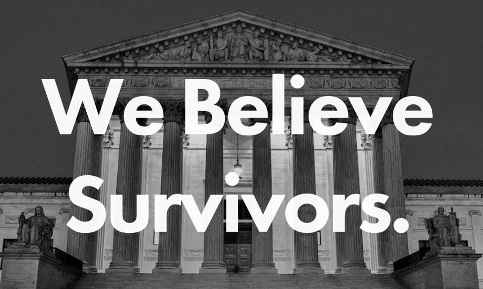 The website BrettKavanaugh.com is now a powerful resource  for sexual assault survivors.