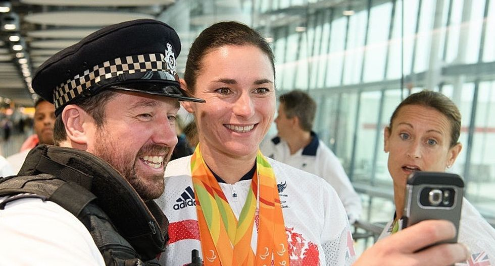 When Britain's Paralympians got home, the party got started.