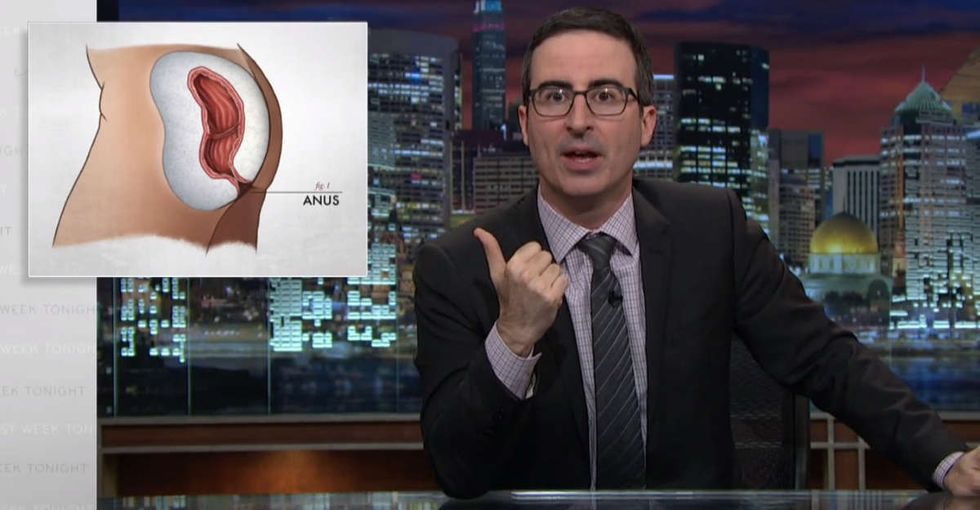 John Oliver explains why the IRS is like your anus.