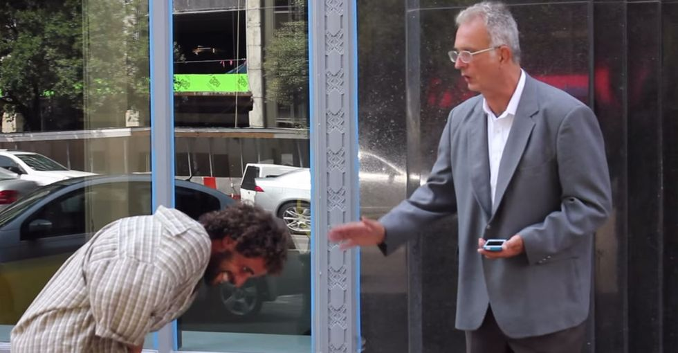 A Homeless Man Put On A Fancy Suit, And The Way People Treated Him Was Kinda Disturbing