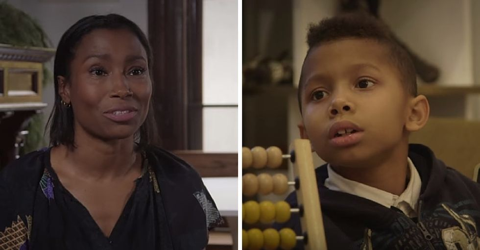 The powerful story of a trans boy, his loving mom, and a very bright future.