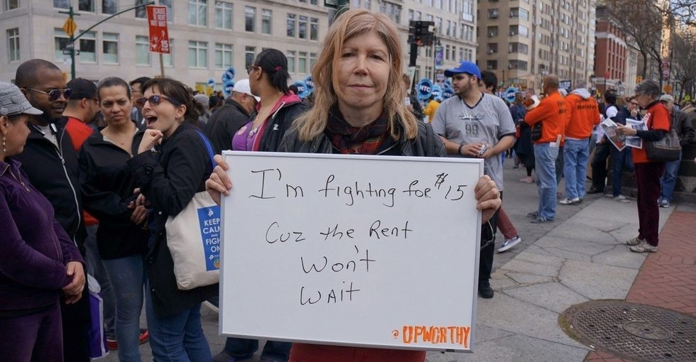 We asked 15 people why they're fighting for $15 and this is what they said.