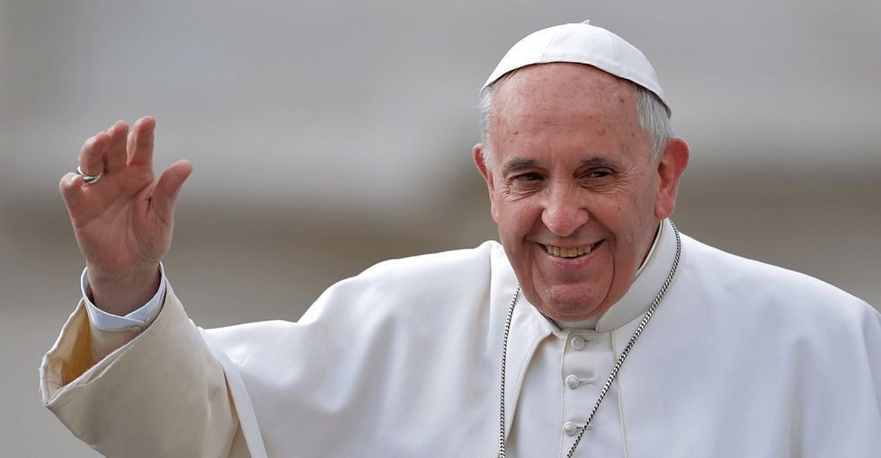 What Pope Francis just said about the gender pay gap is exactly why so many folks love him.