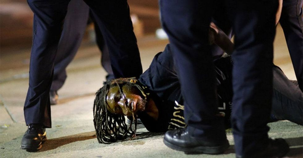Don't understand #BlackLivesMatter? See how police treat white protesters.