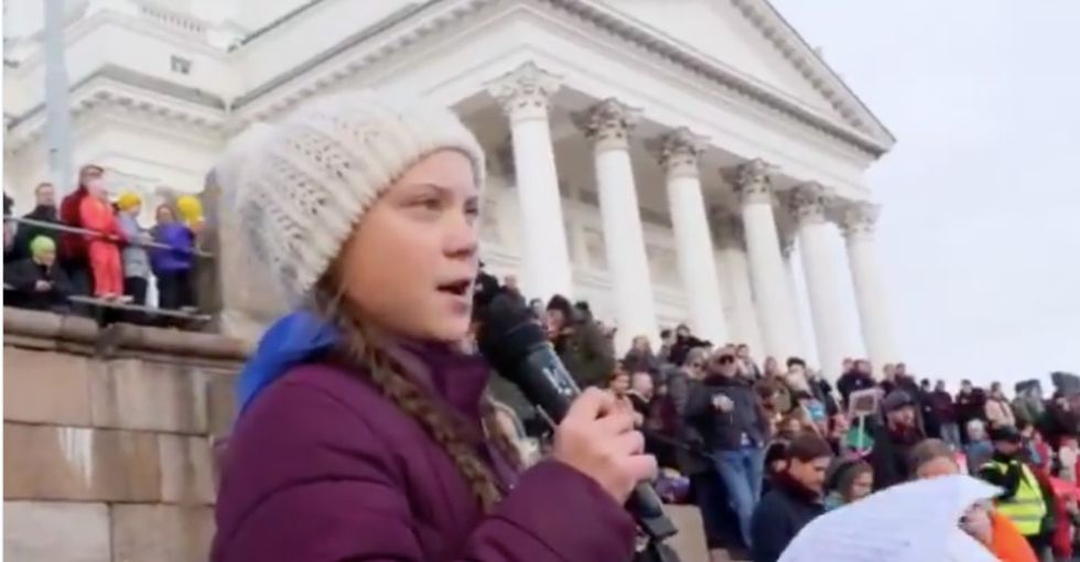 15-year-old activist inspiring crowds of thousands to fight for the planet.