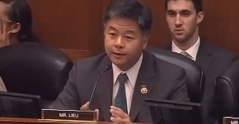 A congressman eloquently schools someone who insulted people with 10th-grade educations.