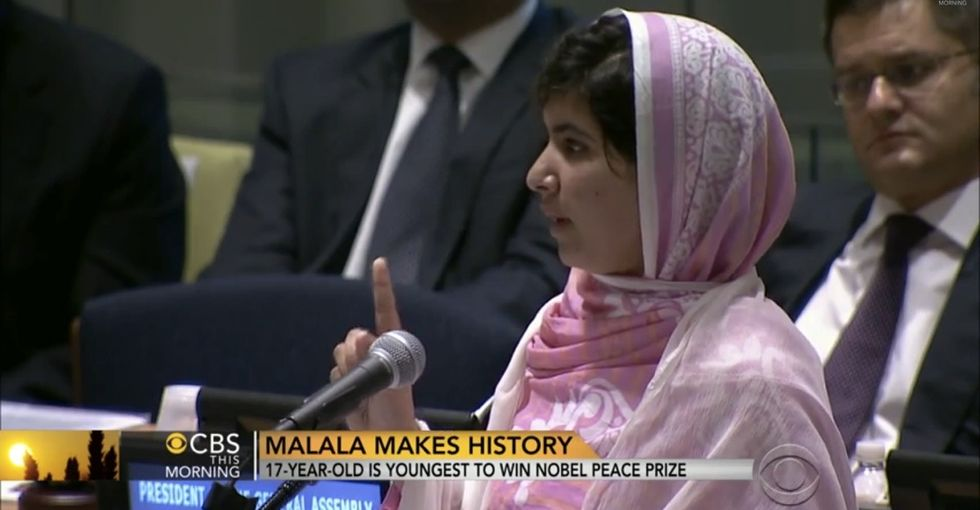 I Wish I Could See The Look On The Taliban's Faces When Malala Revealed What Scares Her