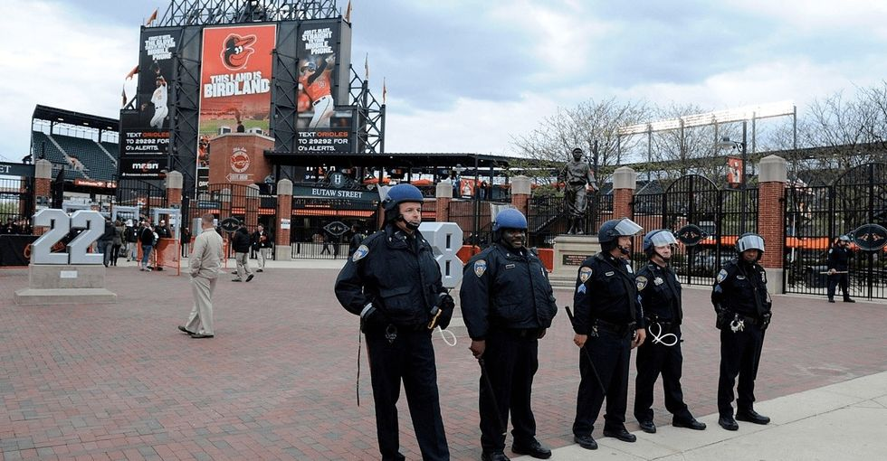 In defense of protesters, a Baltimore Orioles baseball executive launched into an epic Twitter rant.