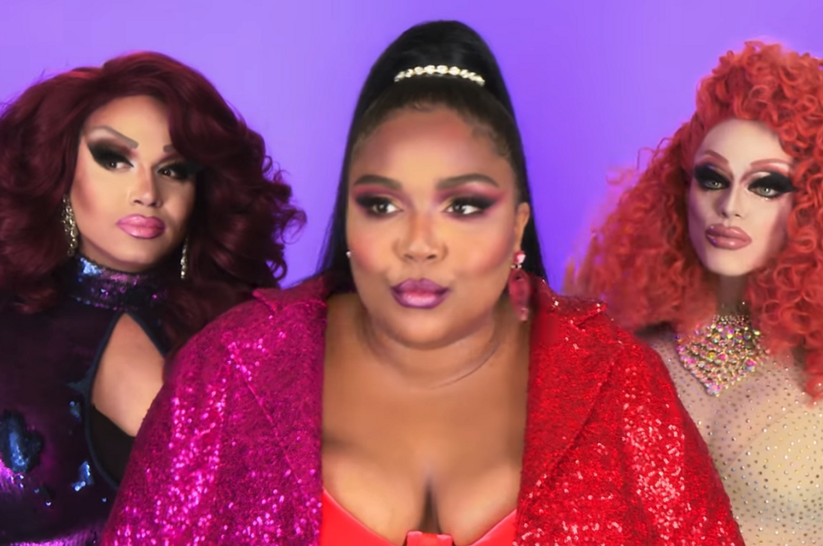 Lizzo Made a Bonus 'Juice' Video With All Your Favorite Drag Queens