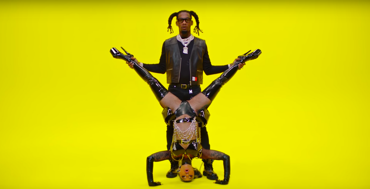 """Offset & Cardi B Get Kinky In New """"Clout"""" Video"""