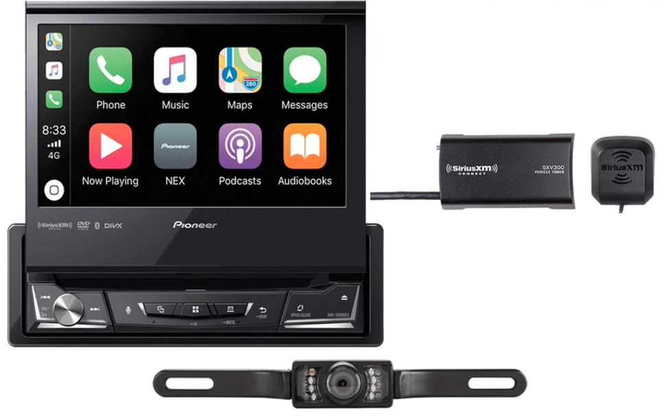 Product image of the Pioneer AVH-3500NEX car head unit with Apple CarPlay