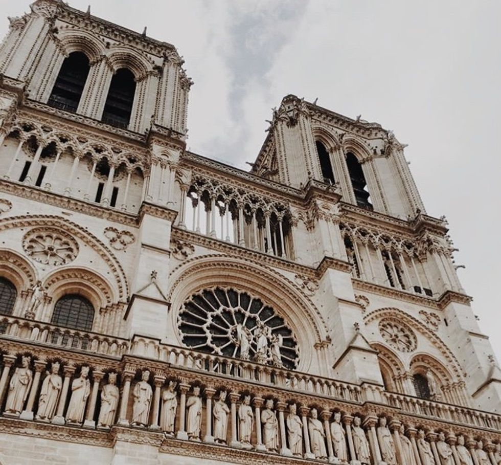 The Notre Dame Cathedral–Such A Loss Of History And Beauty, But What A Gift It Was To Experience It