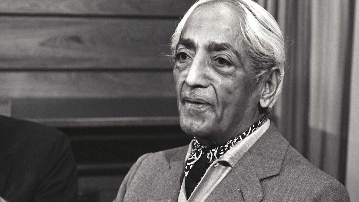 10 Krishnamurti quotes on the meaning of life