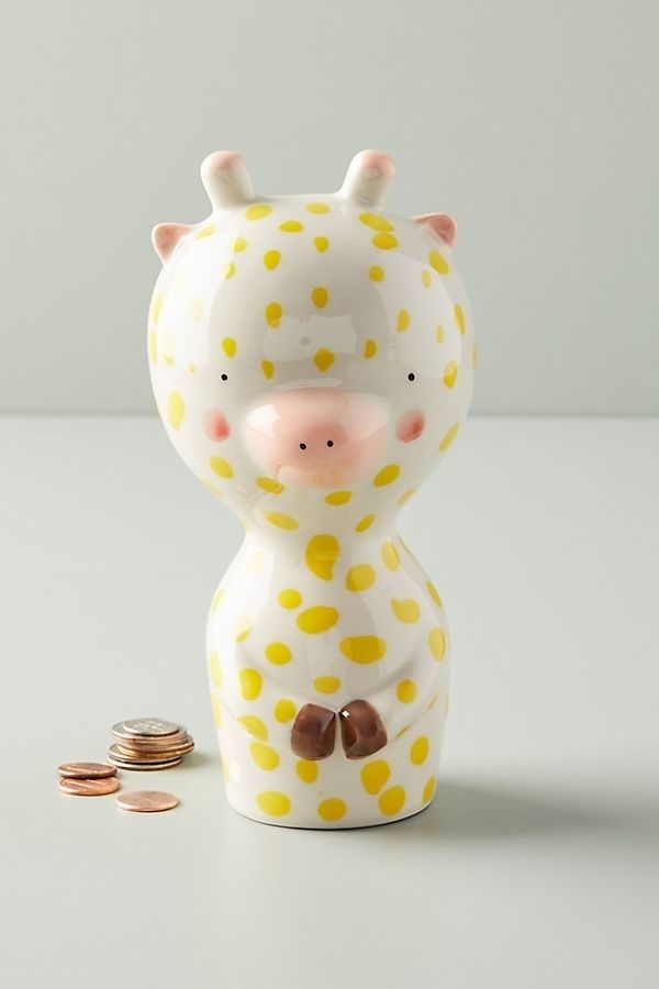 Anthropologie piggy bank