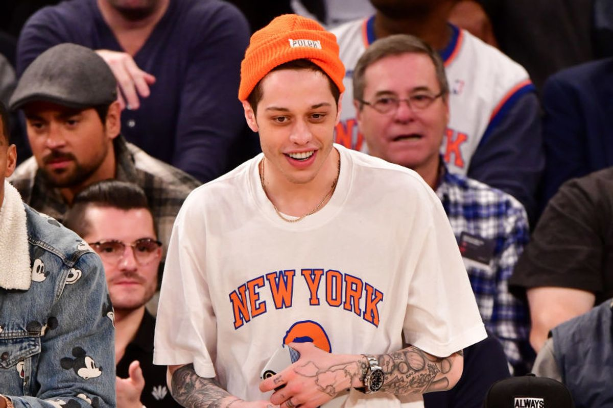 Pete Davidson Is Technically Living in His Mom's Basement