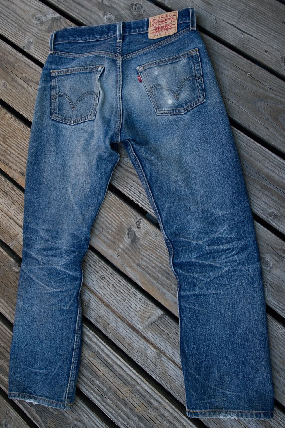 To My Ruined Favorite Pair of Jeans