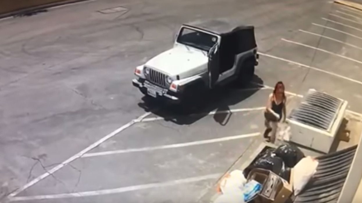 Woman Abandons Puppies Near Dumpster in SoCal Heat