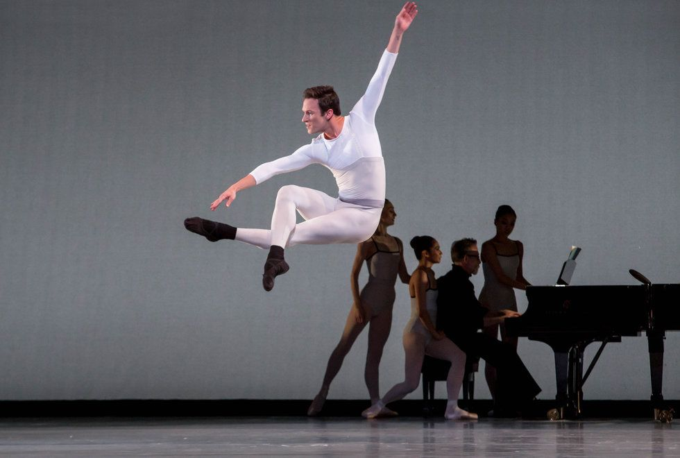 Rory Hohenstein leaps center stage