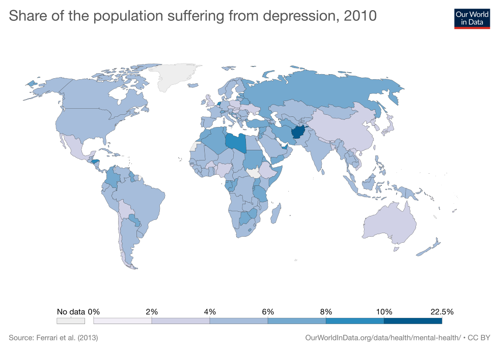 One in five Afghans is depressed - a world record - Big Think