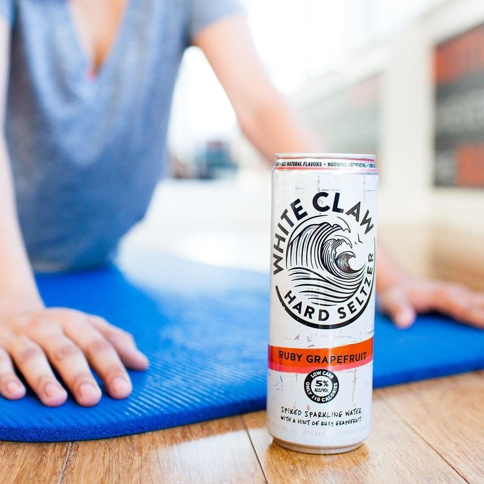 A Poem Dedicated To White Claw Hard Seltzers
