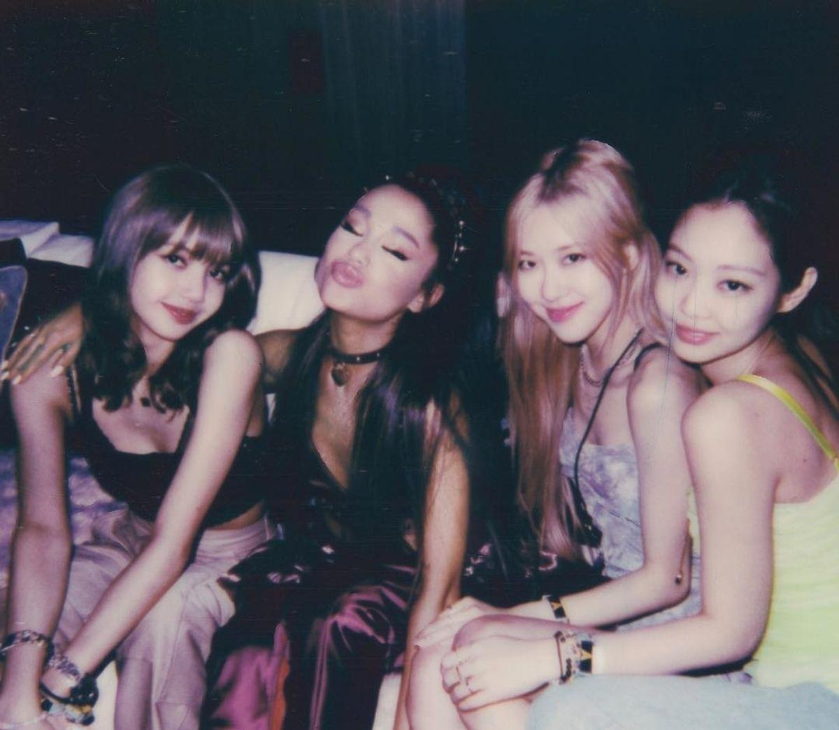 We Finally Got an Ariana Grande x BLACKPINK Photo