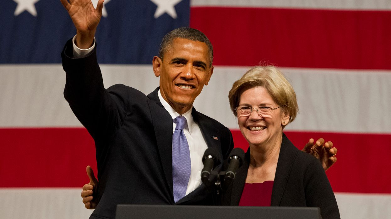 Elizabeth Warren ducks student's question about how she's any different from Obama