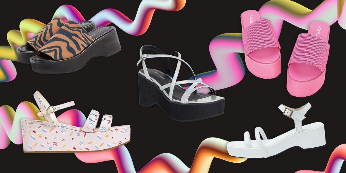 All The Chunky, '90s-Inspired Flatforms We'll Be Wearing This Spring