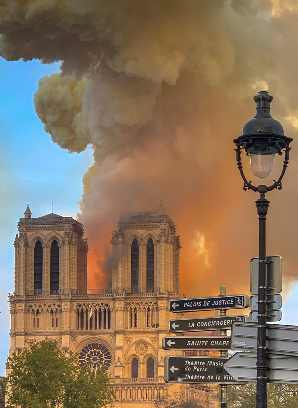 What The Notre Dame Fire Says About Society