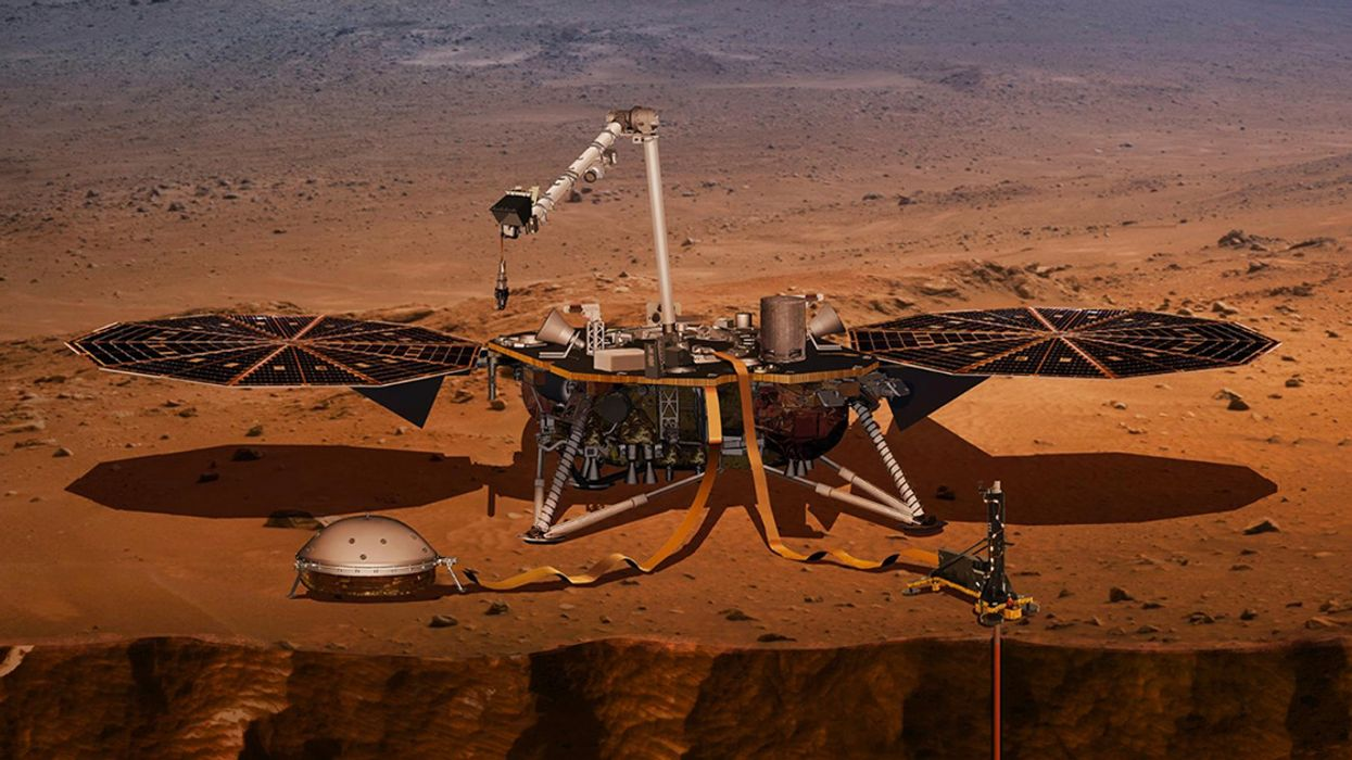 Scientists Detect First 'Marsquake' With InSight Lander
