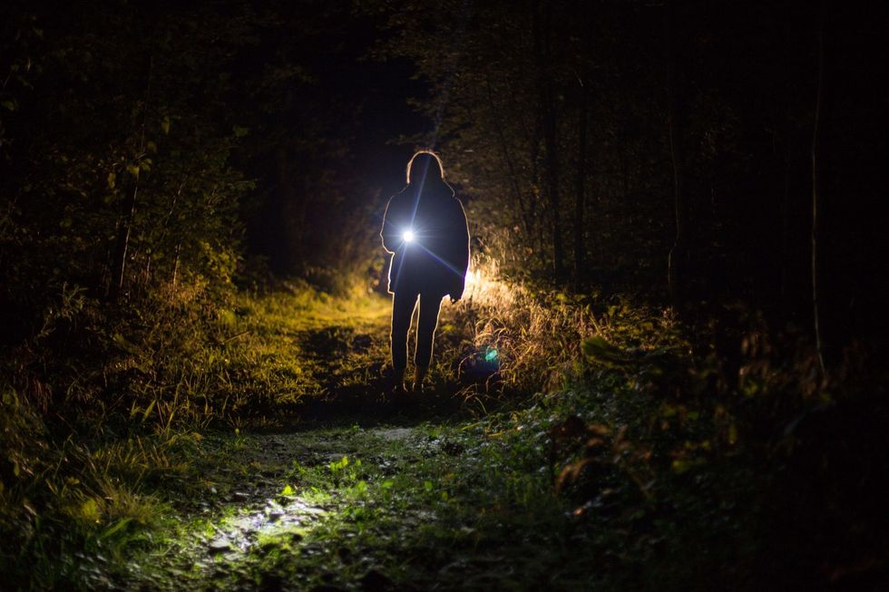 https://www.pexels.com/photo/person-holding-flashlight-during-nighttime-1444860/