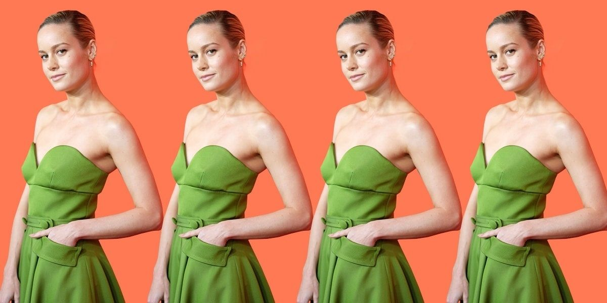 Brie Larson Wore The Pocket Dress To End All Pocket Dresses