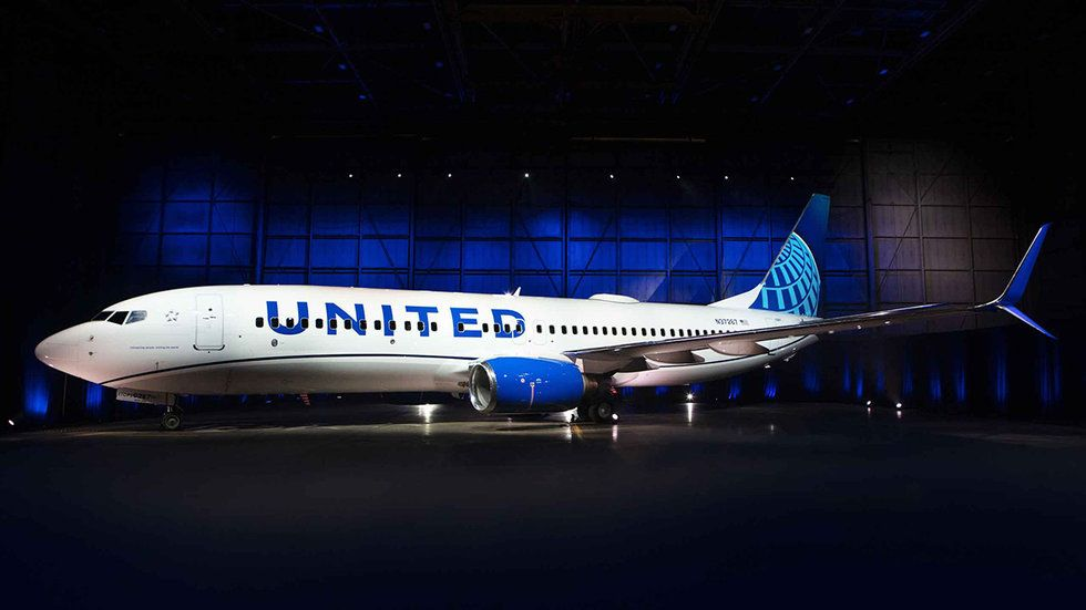 United's new livery