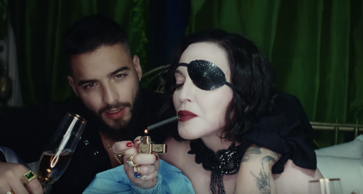 Madonna and Maluma Debut Their 'Medellín' Music Video