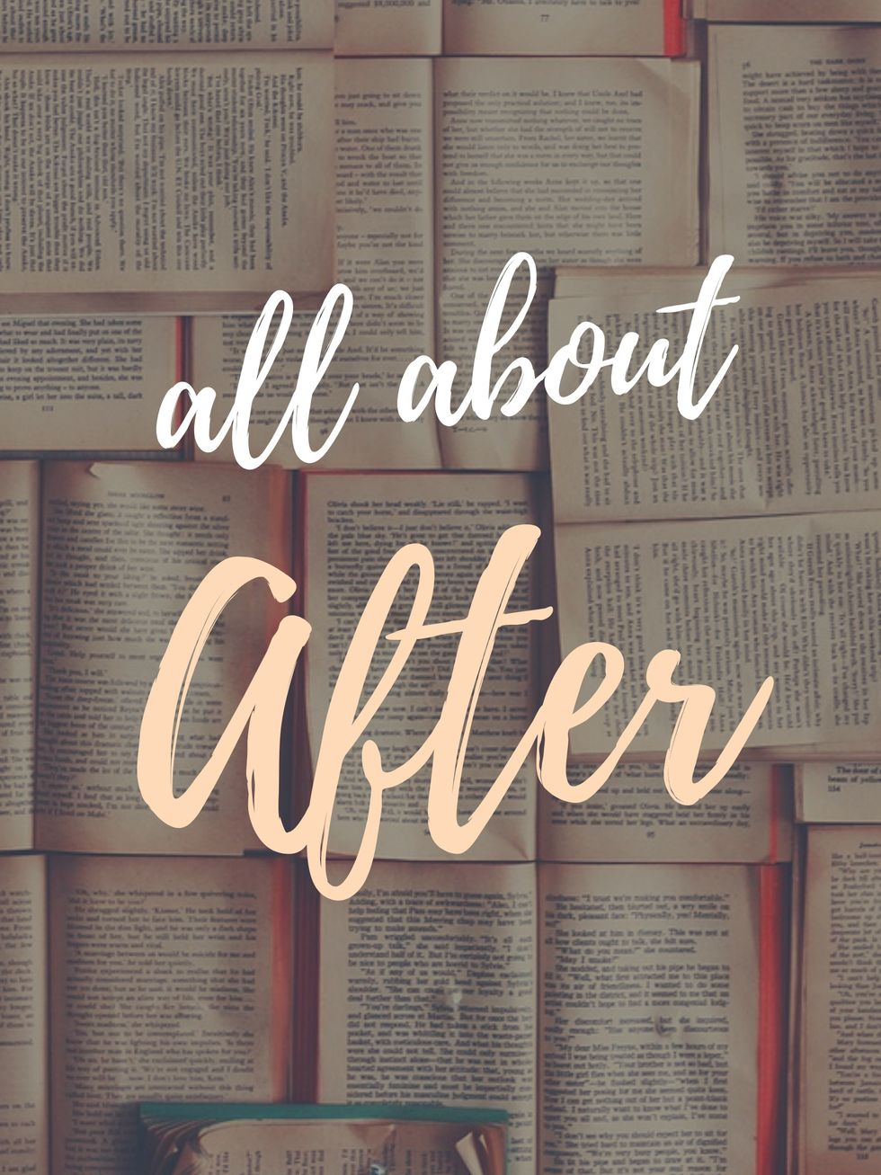 Talking About 'After' By Anna Todd