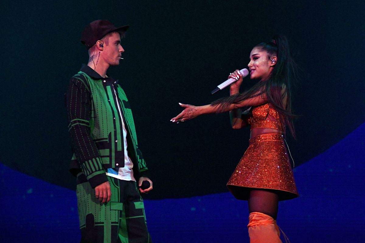 Ariana Grande Defends Justin Bieber Over Coachella Lip Sync Allegations