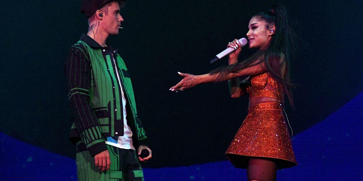 Ariana Grande Defends Justin Bieber Over Coachella Lip Sync Allegations