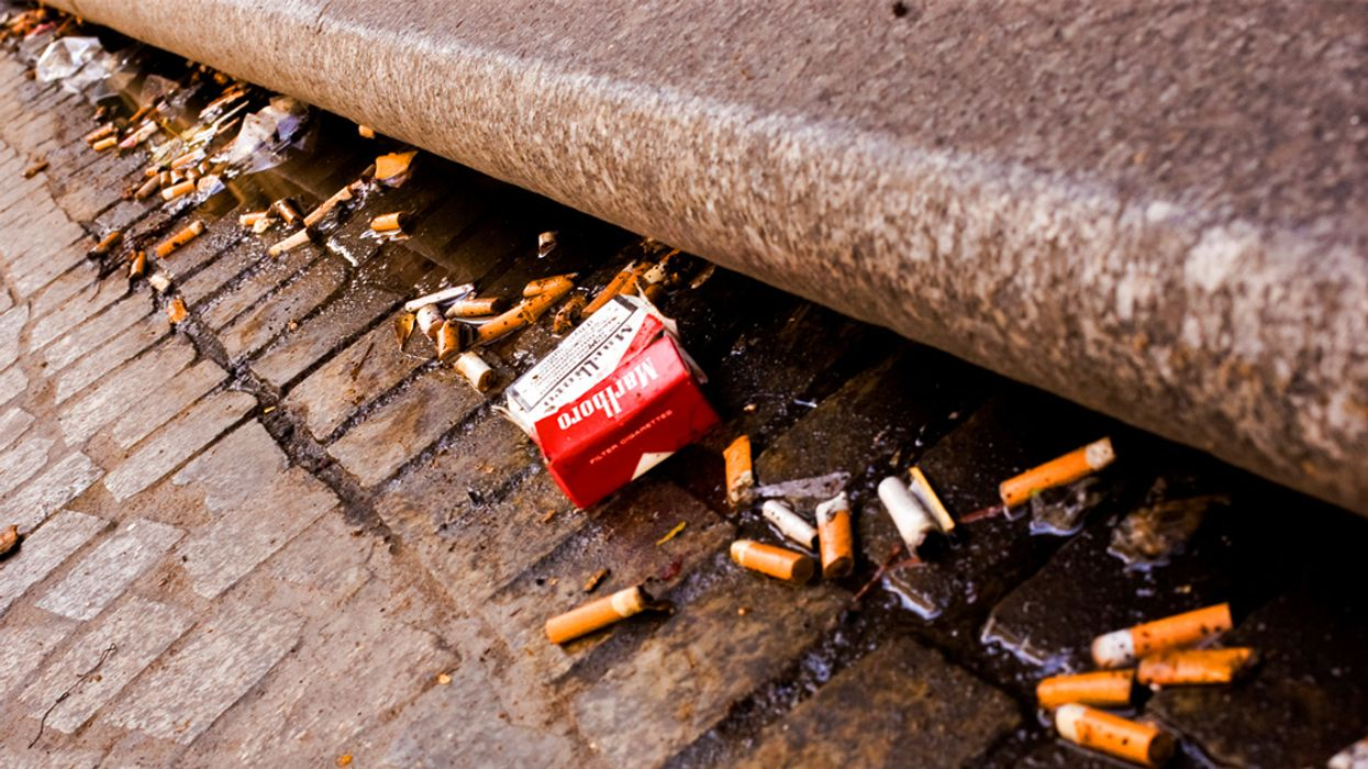 Cigarette Butts: The Most Littered Item in the World